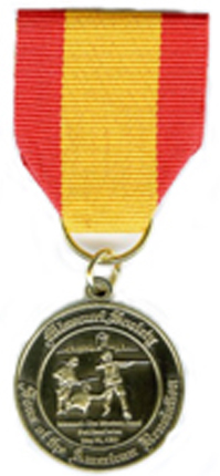 Bronze Missouri Society Medal